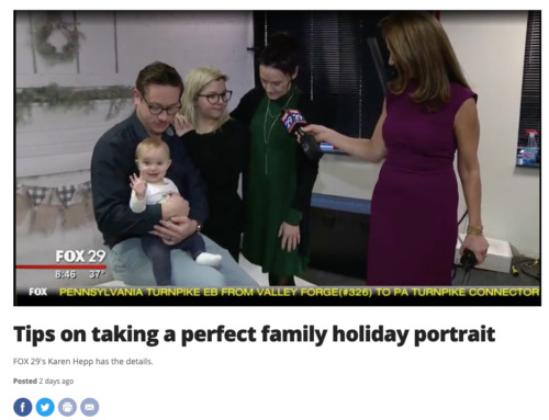 Tips on taking a perfect family holiday portrait